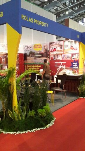 Our booth...first time...involving the exhibition.in JCC - Jakarta.