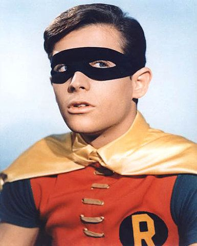 Robin. I met Burt Ward at an auto show in Rockford when I was six. Got an autograph, too. #geeksincebirth