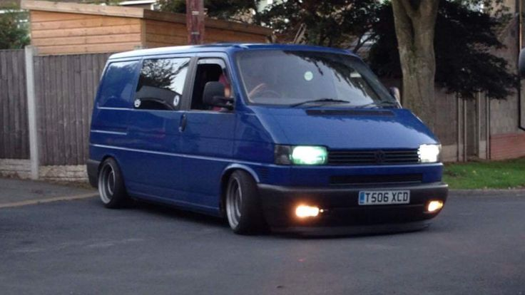 vw t4 chassis notched