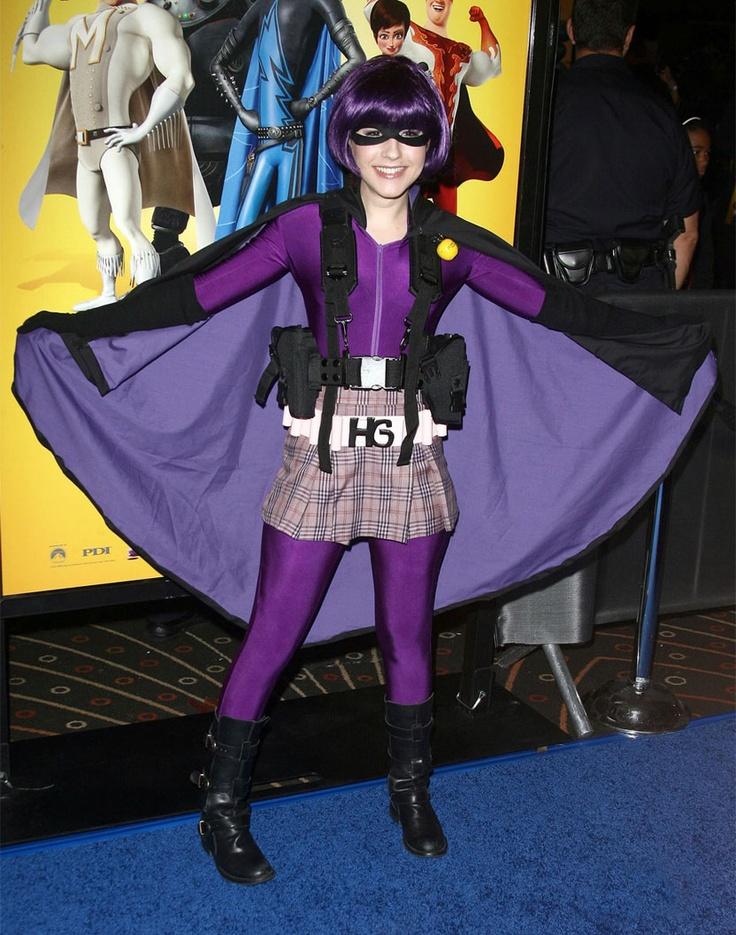 CIA☆こちら映画中央情報局です: エリン サンダースが「キック・アス」のヒットガールに扮したハロウィンの仮装の写真!! - 映画諜報部員のレアな映画情報・映画批評のブログです