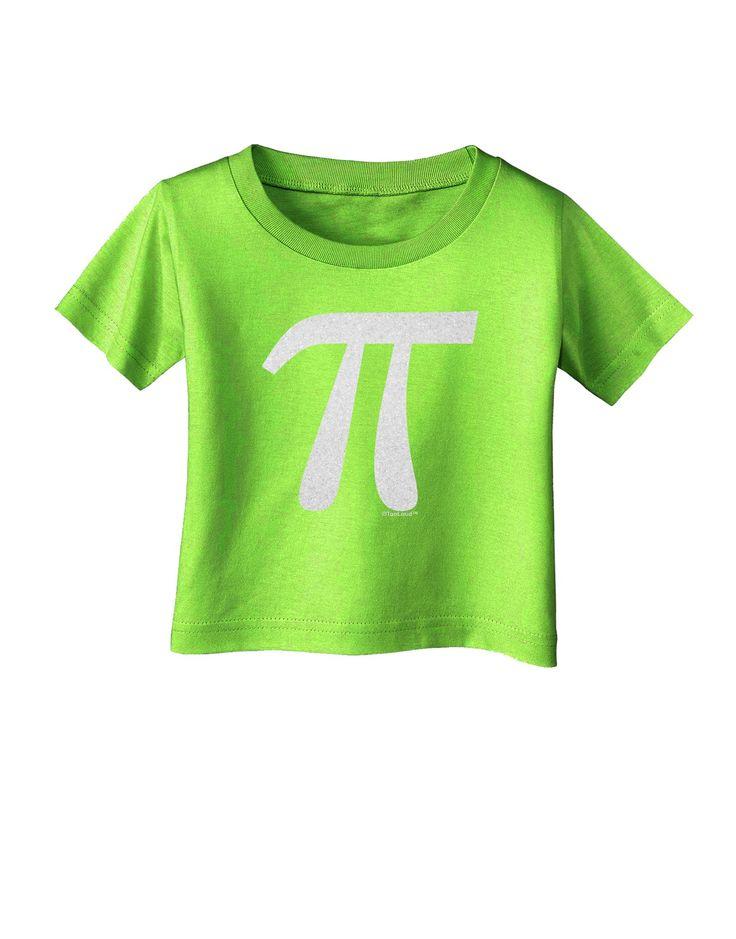Pi Symbol Glitter - White Infant T-Shirt by TooLoud