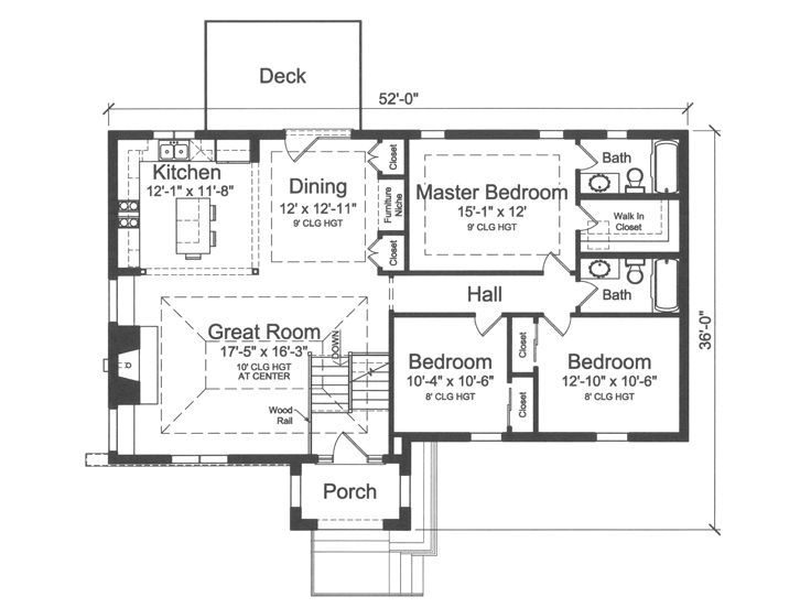 Split Level Floor Plans 3 Bedroom