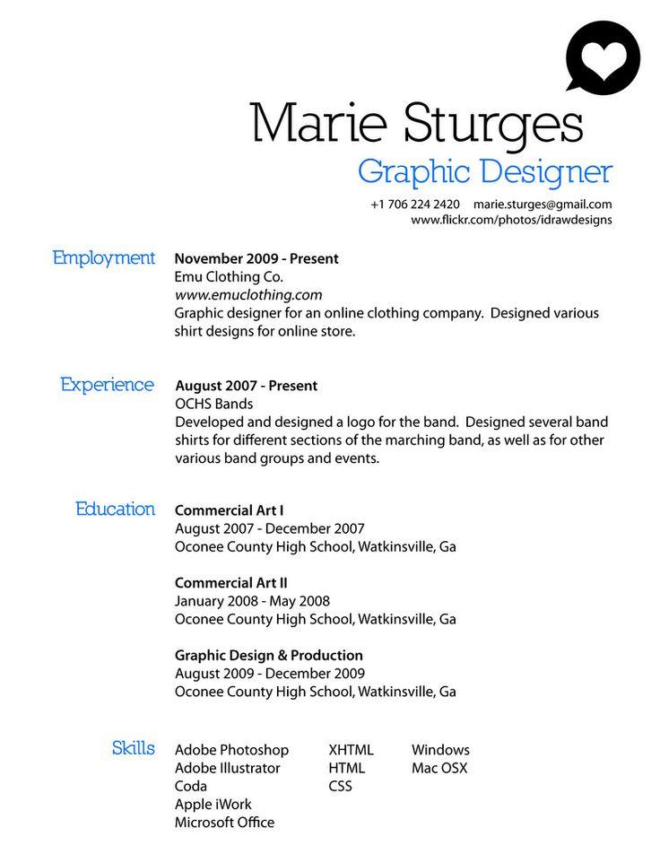 nyu creative resume example