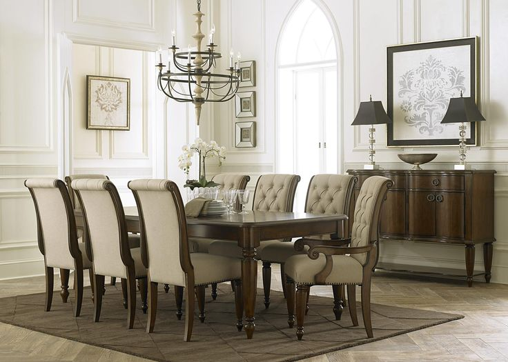 Shop For The Liberty Furniture Cotswold Formal Dining Room Group At Miskelly