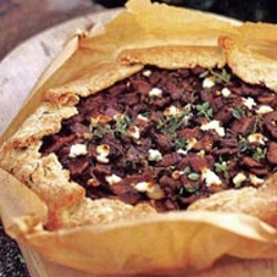 Bacon And Goat Cheese Free Form Tart | Tart and Pie | Pinterest