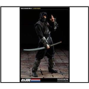 GI Joe Sideshow Collectibles 12 Inch Deluxe Action Figure Cobra Ninja Warrior Code Name Black Dragon Ninja   by Sideshow Collectibles Disclosure Affiliate Link