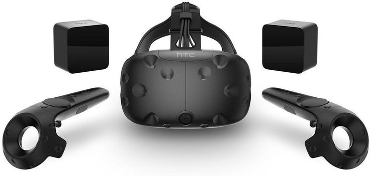 HTC VIVE VR Virtual Reality gaming system 3D Headset 99HALN002-00 consumer New #HTC