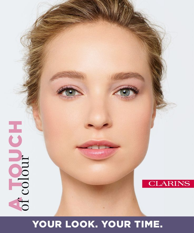 FACE: 2 minutes Apply BB Skin Perfecting Cream and Blush Prodige. EYES: 2 minutes Sweep the lightest shade of Eye Quartet Mineral Palette over lids. Add Supra Volume Mascara. LIPS: 1 minute Smooth on Instant Light Lip Perfecting Balm. Create your perfect look now on Clarins.com