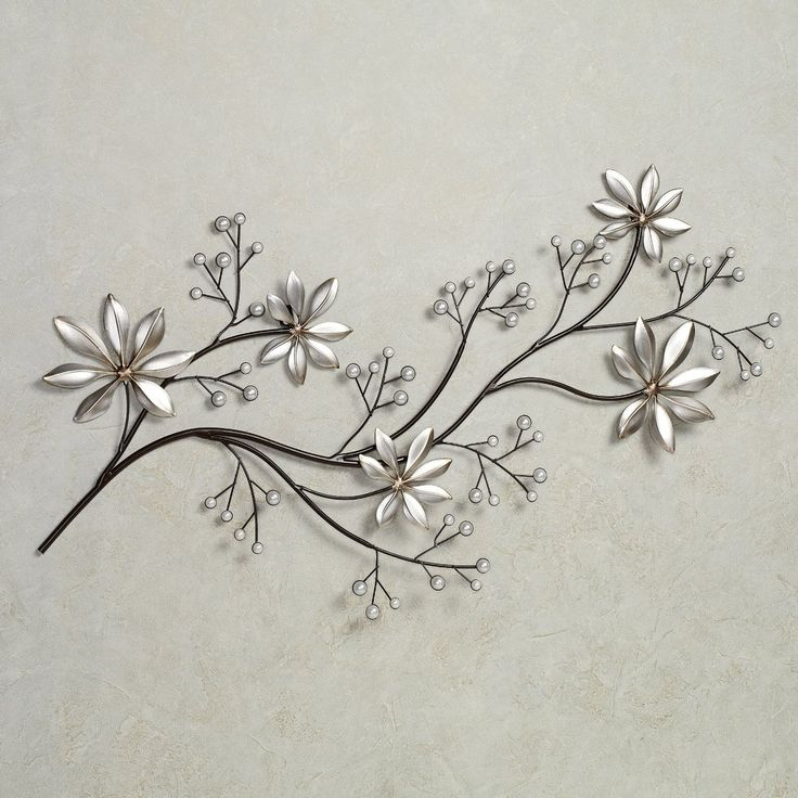 Metal Flowers Wall Decor 12 best metal wall pictures and decorations images on pinterest