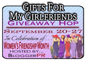 {ends 9/27} Gifts For My Girlfriends Giveaway Event via Moms Bookshelf & More: