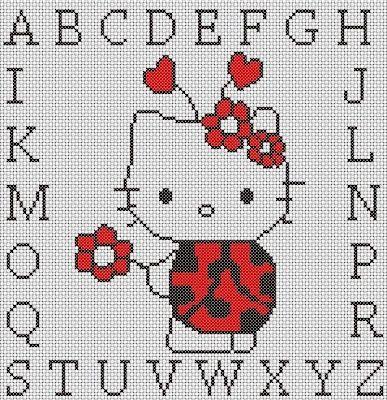 Patrón: Hello Kitty - 6.