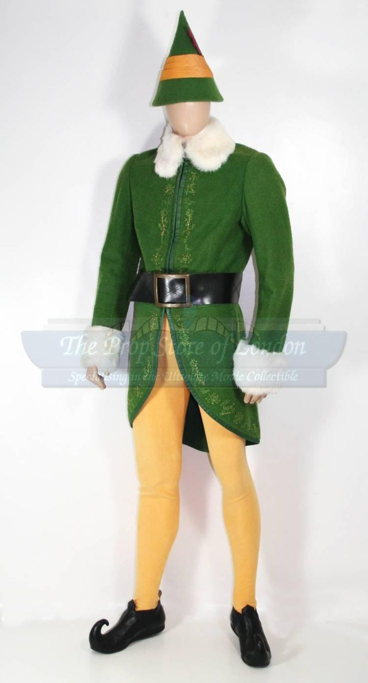 1000 ideas about buddy the elf costume on pinterest