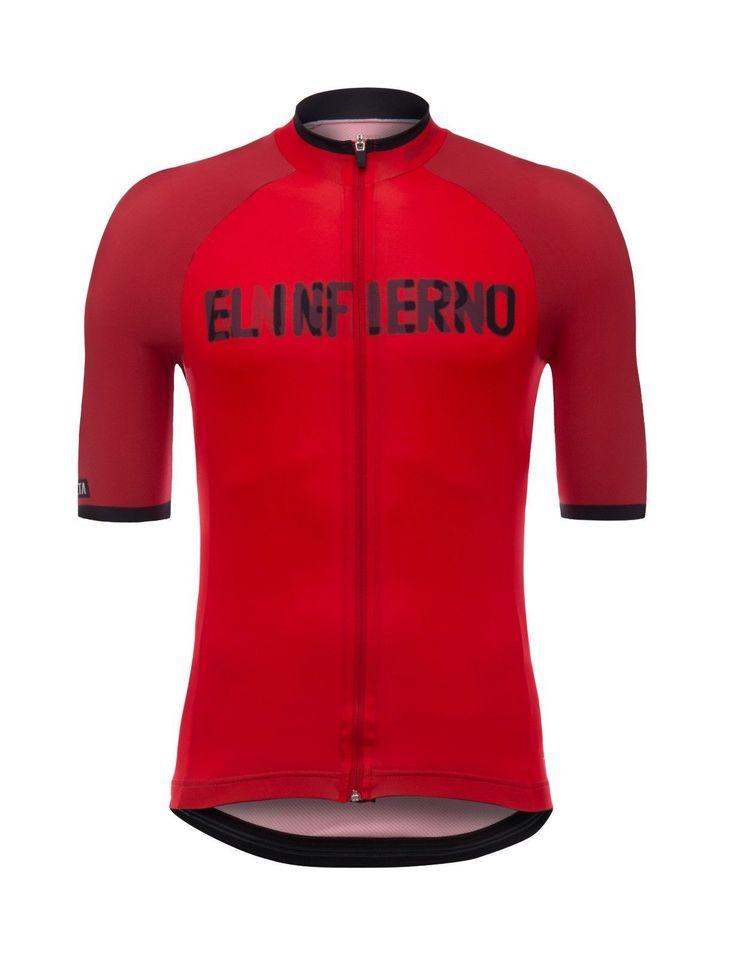 2017 La Vuelta a Espana Angliru Cycling Jersey: Made in Italy by Santini