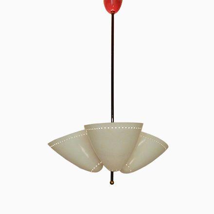 Popular Italienische Mid Century H ngelampe mit Drei Leuchten Jetzt bestellen unter https moebel ladendirekt de lampen deckenleuchten deckenlampen uid udeabd