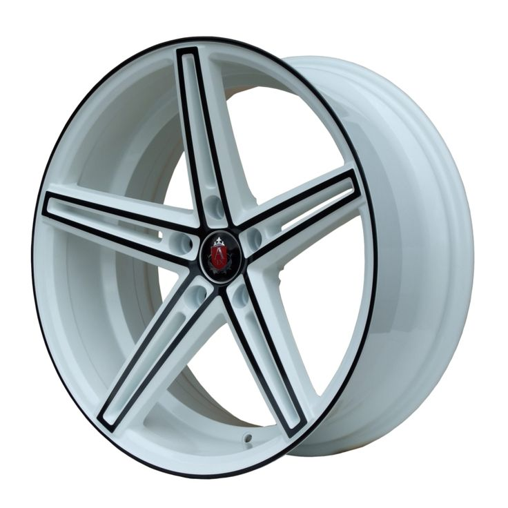AXE EX14 WHITE BLACK FACE alloy wheels with stunning look for 5 studd wheels in WHITE BLACK FACE finish with 19 inch rim size