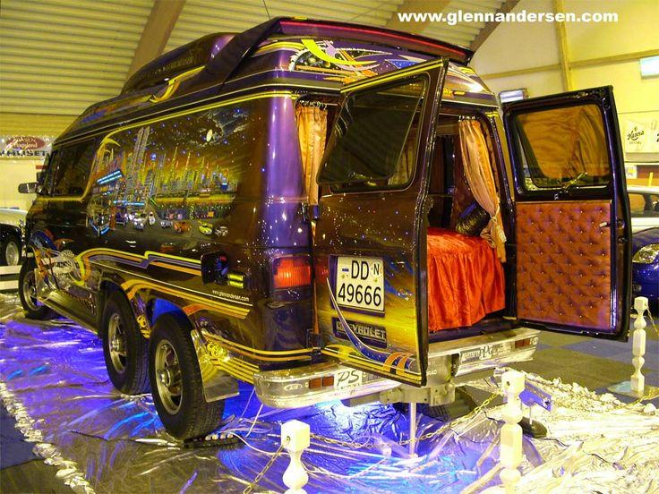 Custom Van Interiors Old School Vans