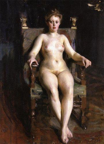 Anders Zorn - Hilma Herikson, 1908 (Museo Revoltella, Trieste)