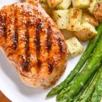 This pork chop marinade is perfect for grilled pork chops or even baked pork chops. Full of flavor, quick and easy marinade recipe.