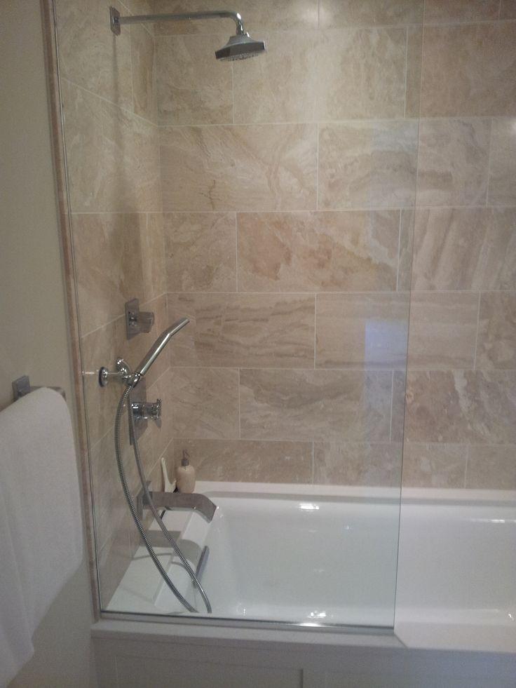 Frameless Shower Door Splash Guard Revolutionhr
