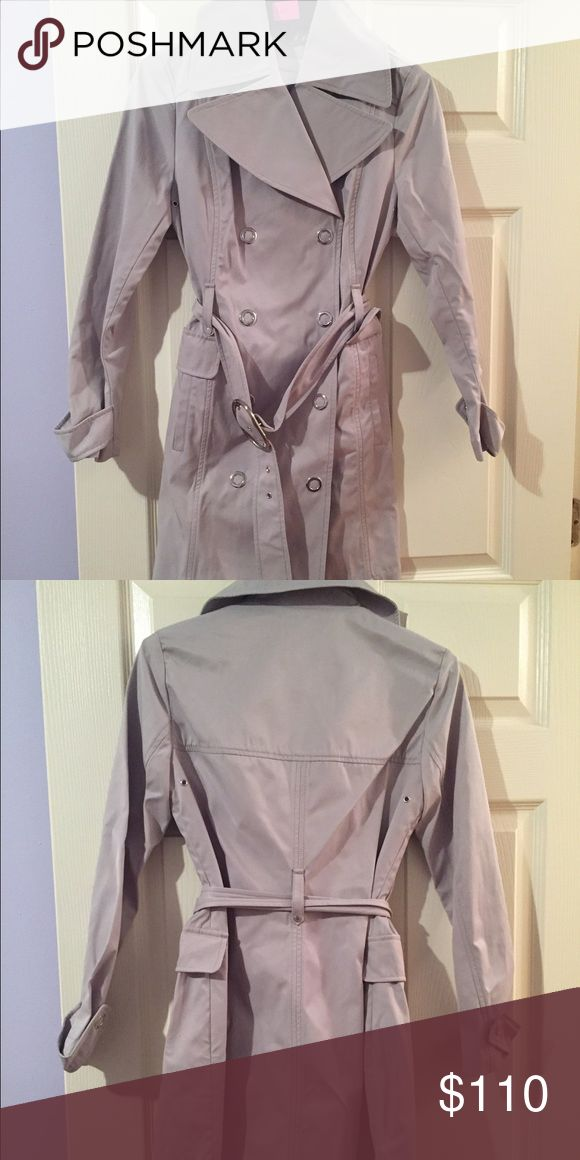 BCBG jacket Grey BCBG waterproof trench coat BCBGeneration Jackets & Coats Trench Coats