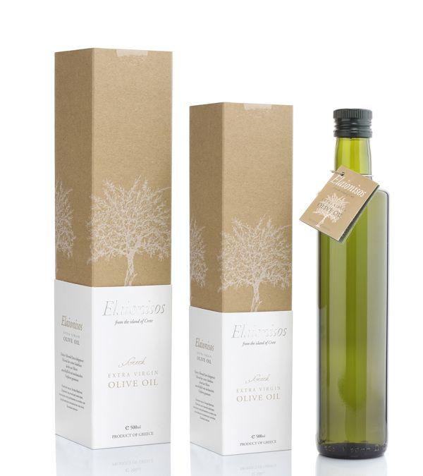 Olive Oil Packaging by Maria Stylianaki, via Behance