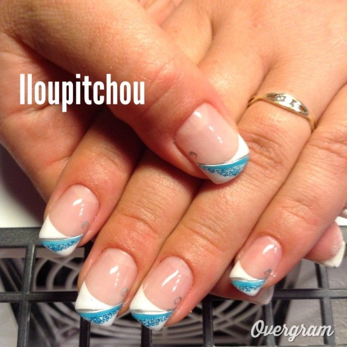 decoration ongles hiver