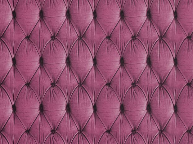 Mineheart Pink Chesterfield Button Back Wallpaper by Young & Battaglia