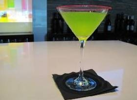 The Grinch-- fun signature drink idea for Christmas Parties