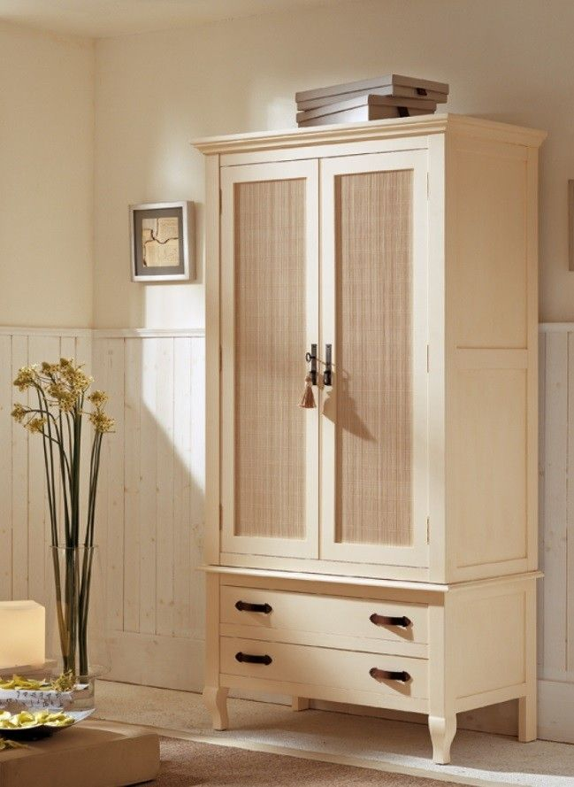 armario vintage de dos puertas roperos pinterest