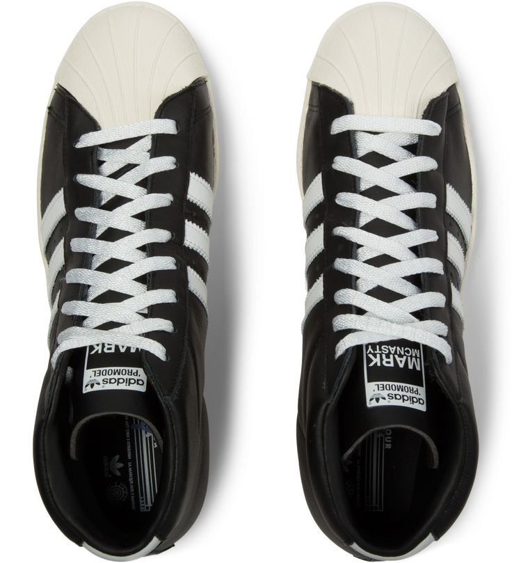 Black/White MCN Pro Model 84-LAB Shoes