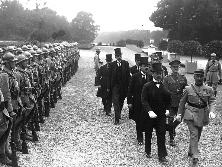 History: The Picture shown is the Signing of The Treaty of Trianon which was signed on June 4, 1920, at the Grand Trianon Palace in Versailles.  After WWI, the aftermath was very harsh on Hungary and its people. By signing The Treaty of Trianon, Hungary lost two-thirds of its territory and half of its population. The Treaty was to promote peace and end WWI, but the other Allied countries went against Hungary and it was forced to lose two-thirds of their territory.