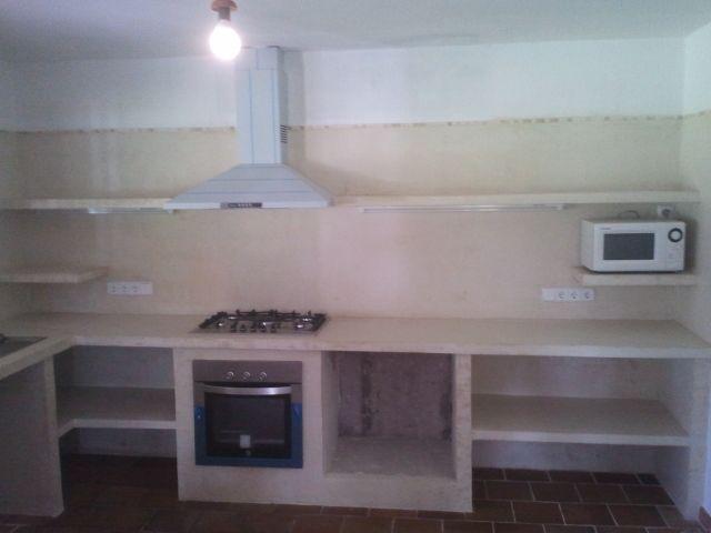 Reformas julio camarena cocina con cemento pulido ideas for Modelos de cocinas empotradas en cemento y porcelanato