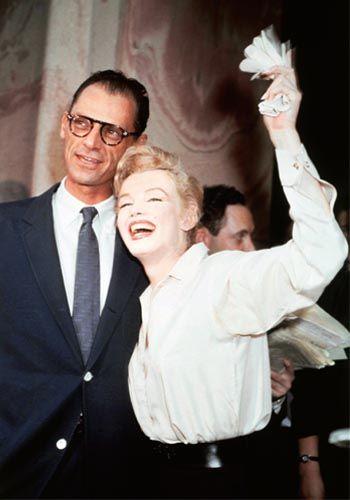 Marilyn Monroe & Arthur Miller civil ceremony 1956