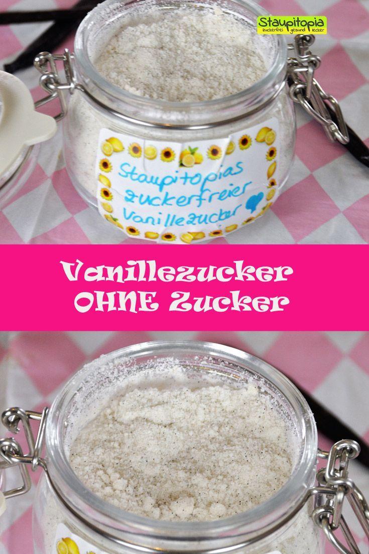 Vanillezucker könnt ihr in 2 Minuten und mit nur 2 Zutaten ganz ohne Zucker selber machen. Wenn ihr ohne Zucker backen möchtet, dann sollte dieser Vanillezucker bzw. Vanille Xucker in eurer Küchengrundausstattung nicht fehlen.