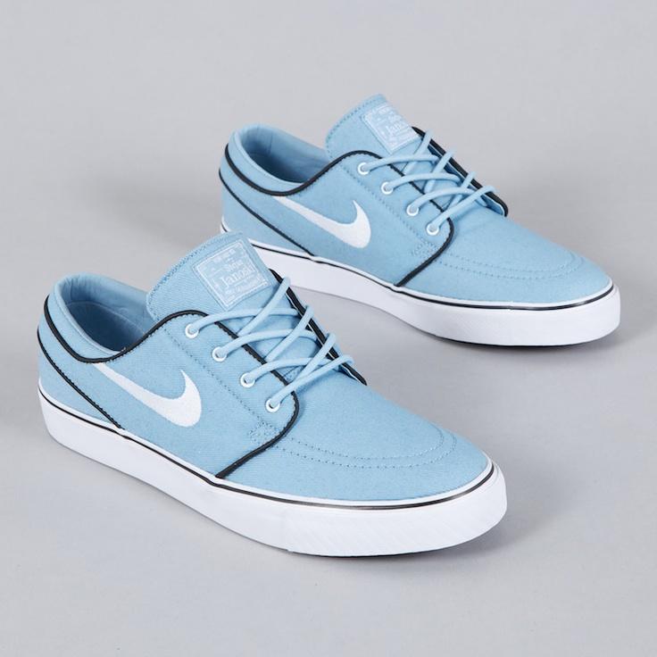 Nike SB Stefan Janoski Soft Blue Chambray | Nike shoes outfits ...