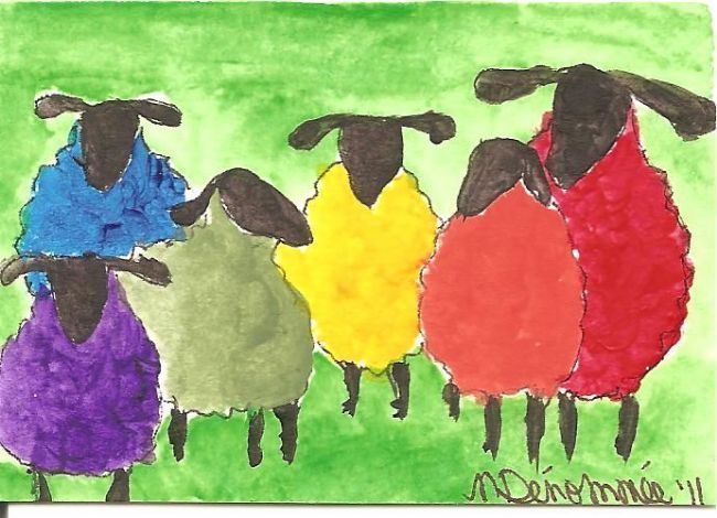 SHEEP IN PAINTINGS AND ART - Bing Images