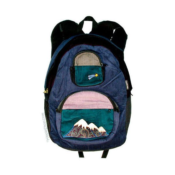 Big Mountain Patchwork Corduroy Backpack on Sale for $49.95 at The... (€0,89) ❤ liked on Polyvore featuring bags, backpacks, accessories, zip bags, backpacks bags, hippy bag, rucksack bag and star backpack