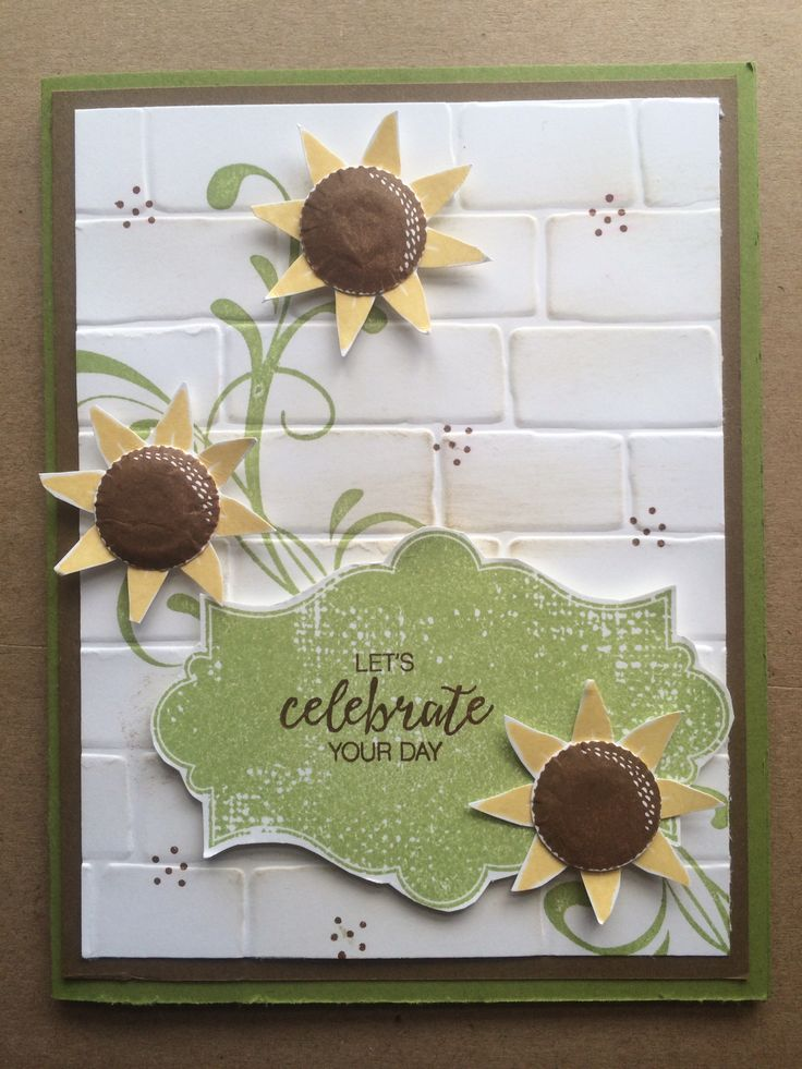 Stampin Up Paper Pumpkin alternative ideas September 2016 by Pat McG...bday card for my sister-in-law Karen ❤
