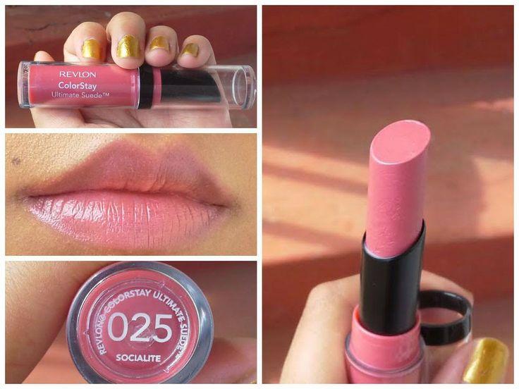 Revlon ColorStay Ultimate Suede lipstick in 0025 Socialite ...
