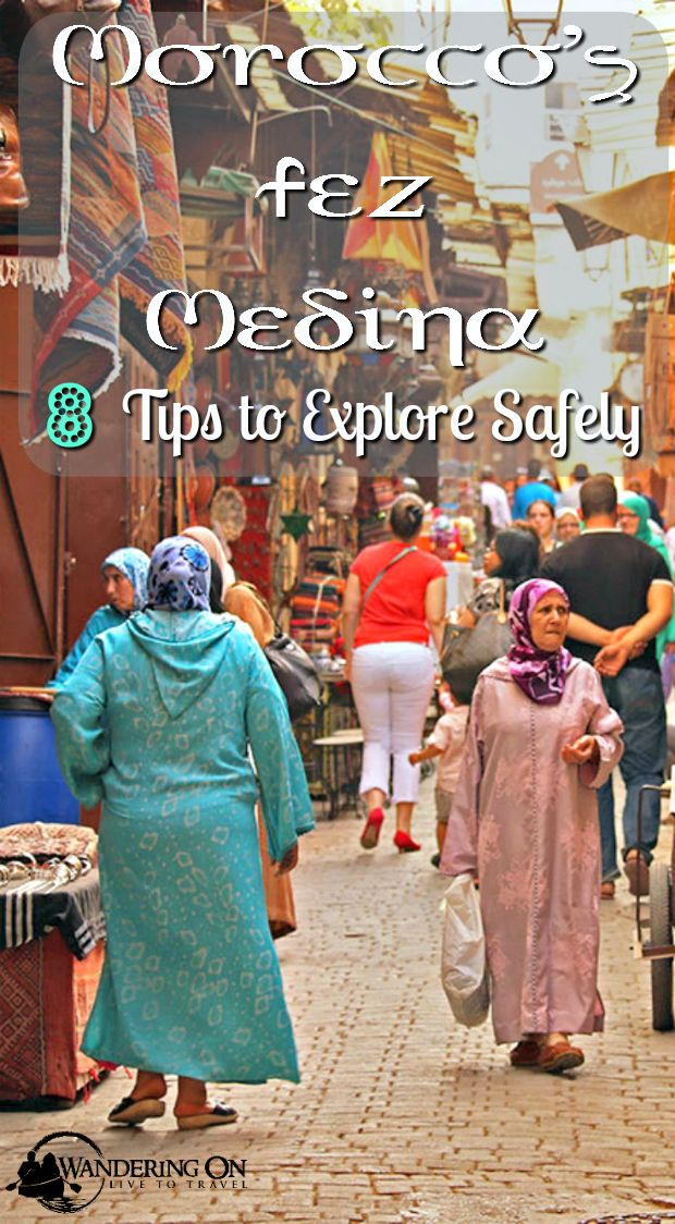 If you're heading to Morocco's imperial city Fez, you may have heard some stories about it's notorious medina, the largest in Morocco. Here are our tips to stay safe and have a enjoyable time in the Fez medina!