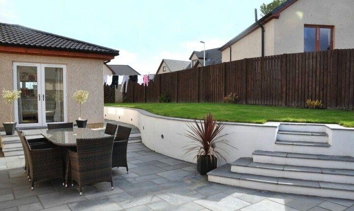 110 best images about large garden design on pinterest for Rendered garden wall designs