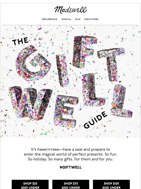 It S Heeerrre The Gift Well Guide Madewell Wellness Gifts