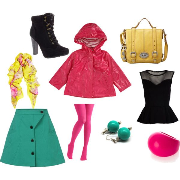 colourful in Winter, created by marcela-suazo-toro on PolyvoreFashion Ideas