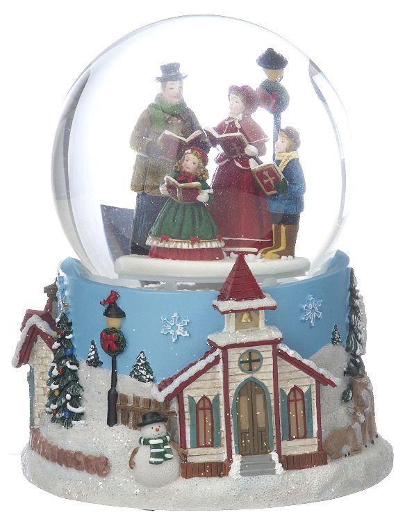 Large Carolers Snow Globe. Lovely Christmas gift