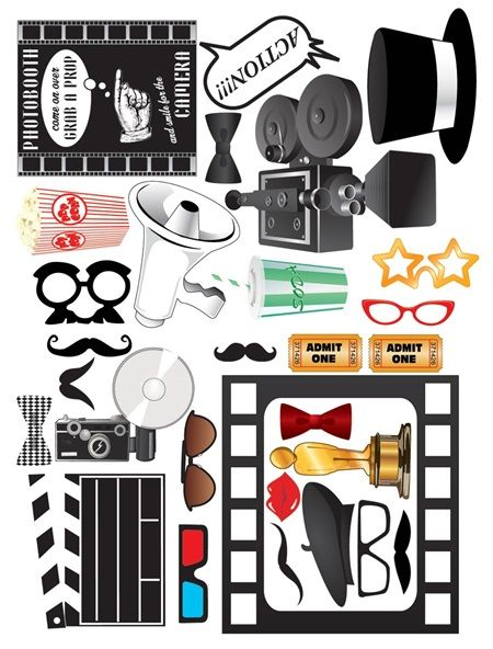 Hollywood Photo Prop Kit