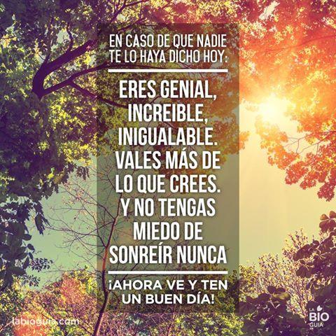 Como cada día os deseamos #BuenosDiasKH
