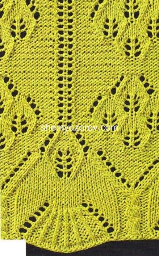 Openwork Lace Knitting Pattern : 1184 best images about Pleteni vzorci / Knitting stitches ...