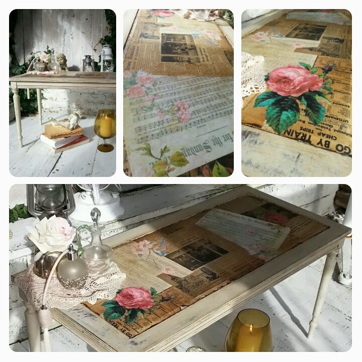 1000 ideas about decoupage coffee table on pinterest