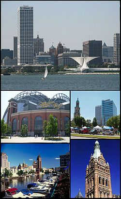 Milwaukee - largest city in the U.S. state of Wisconsin & 39th most populous region in the country. The first Europeans to pass through the area were French Catholic missionaries and fur traders. In 1818, the French-Canadian explorer Solomon Juneau settled in the area, & in 1846 Juneau's town combined with 2 neighboring towns to incorporate as the City of Milwaukee.  Large numbers of German and other immigrants helped increase the city's population during the 1840s and the following decades.