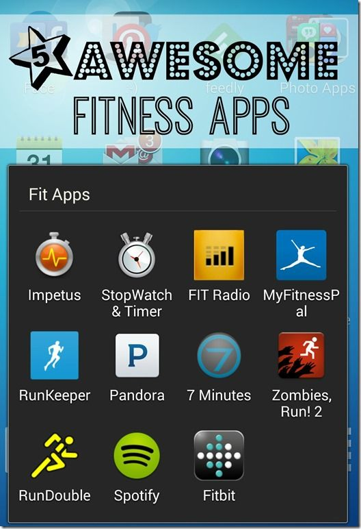 Did Someone Say Chocolate | Five Free Fitness Apps #Smartphone #iPhone #android